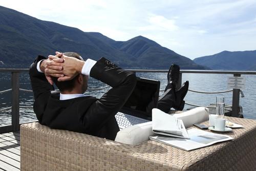 Relaks w pracy/fot. Fotolia
